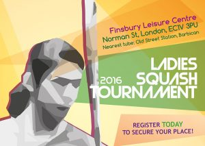 Finsbury Leisure Centre Ladies Squash Tournament
