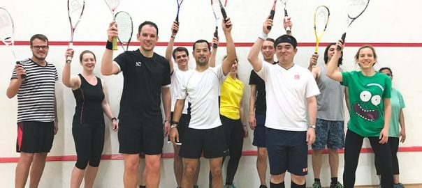 Finsbury Leisure Mixed Squash Group