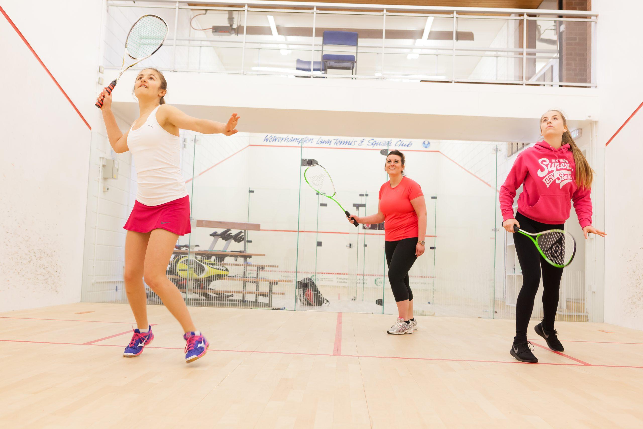 Ladies Squash, Finsbury Leisure Centre