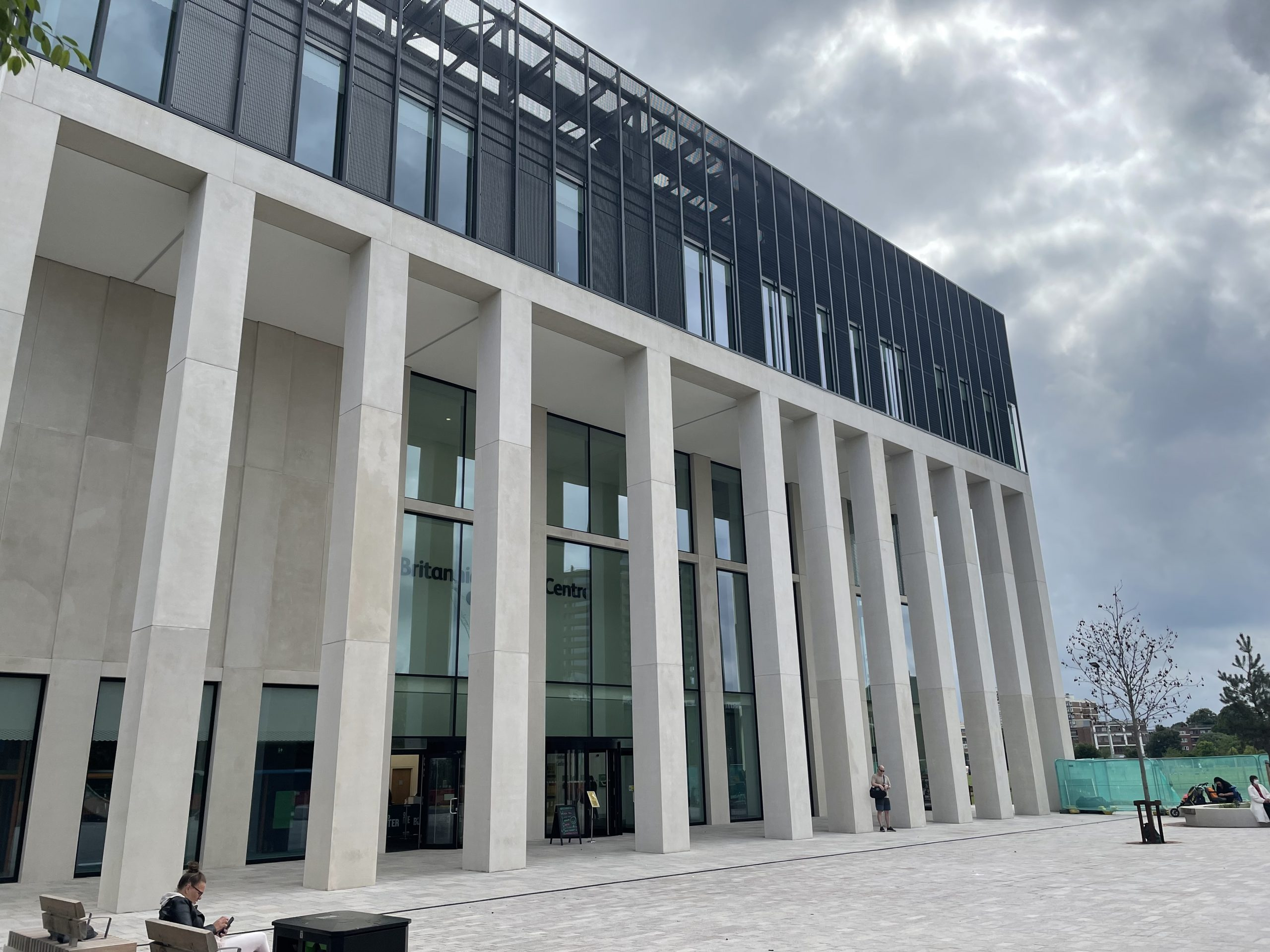The new Britannia Leisure Centre